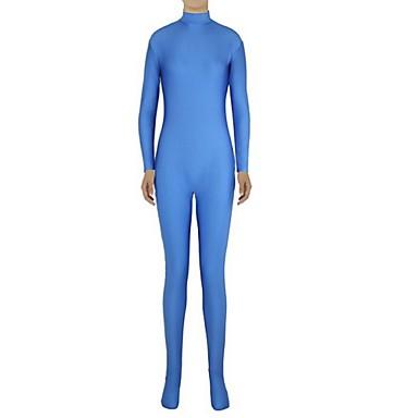 Zentai odijela Morphsuit Ninja Zentai odijela Cosplay Nošnje Plav Jednobojni Hula-hopke/Onesie Zentai odijela Spandex Lycra Uniseks