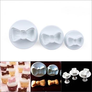 Ferramentas bakeware Plástico Amiga-do-Ambiente / Faça Você Mesmo Biscoito / Chocolate / para Candy Molde 3pçs