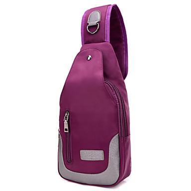 Unisex Kassit Nylon Salkku Cross Body Bag Vyölaukku Sling Olkalaukut varten Shoppailu Kausaliteetti Urheilu Ammattilaiskäyttöön Syksy