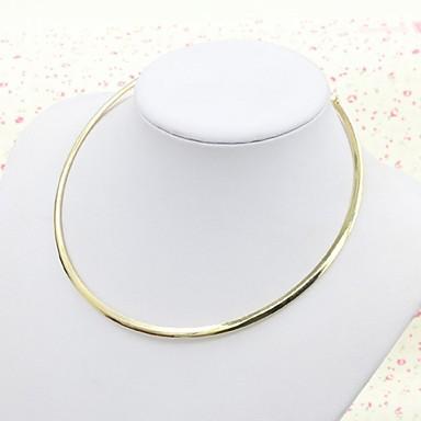 Naisten Choker-kaulakorut Metalliseos Muoti minimalistisesta Kulta Korut Varten Erikoistilaisuus Syntymäpäivä
