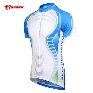 TASDAN Homens Manga Curta Camisa para Ciclismo Moto Camisa / Roupas Para Esporte Conjuntos de Roupas, Secagem Rápida, Respirável, Redutor