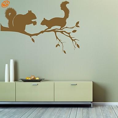 Abstrato Animais Adesivos de Parede Autocolantes de Aviões para Parede Autocolantes de Parede Decorativos, Vinil Decoração para casa