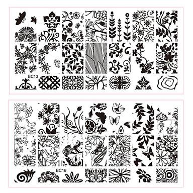 5 Stempelplatte Andere Dekorationen Blume Modisch Gute Qualität Alltag