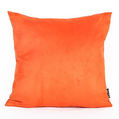 1cm 45 * 45cm narančasta boja odijela od jastuka pokriti domaće ukrase