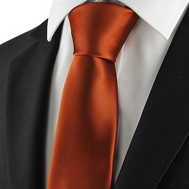 עניבה-חלק(חום,פוליאסטר)