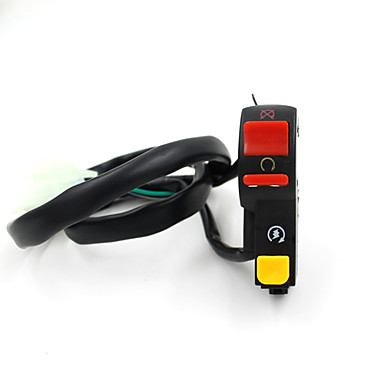 התלקחות כזאת motorcross אופנוע אוניברסלי אור על-כיבוי קרן פנס VR