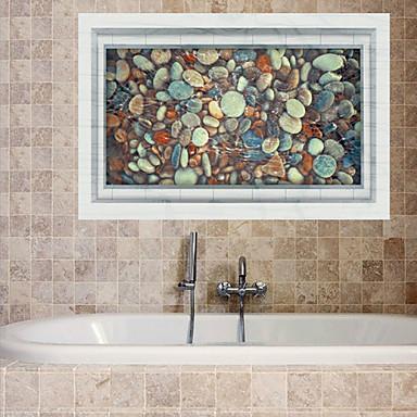 אנימציה / רומנטיקה / אופנה / חג / נוף / צורות / תחבורה / פנטזיה / 3D מדבקות קיר מדבקות קיר תלת מימד,PVC 90cm x 60cm ( 35in x 24in )