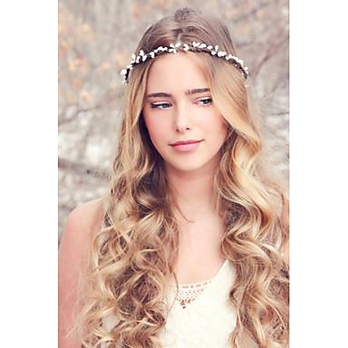 voordelige Dames Sieraden-Dames Elegant Stof Haarbanden Fascinators Hoofd Sieraden Bruiloft Feest