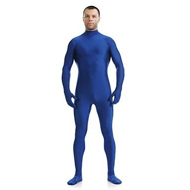 חליפות Zenta רובין הוד Ninja Zentai תחפושות קוספליי כחול אחיד /סרבל תינוקותבגד גוף Zentai חליפת חתול ספנדקס לייקרה יוניסקס האלווין (ליל