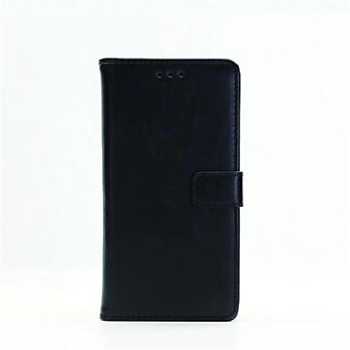מגן עבור Sony Sony Xperia XA Sony Xperia X Xperia XA Xperia X מגן סוני מחזיק כרטיסים ארנק עם מעמד נפתח-נסגר כיסוי מלא צבע אחיד קשיח עור PU