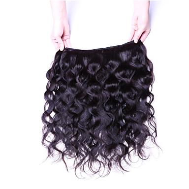 Włosy peruwiańskie Falowana Ludzkie włosy wyplata 4 elementy 0.4
