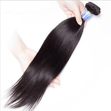 Hiukset kutoo Brasilialainen Straight 18 kuukautta 1 Kappale hiukset kutoo