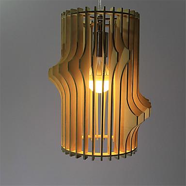 Anheng Lys ,  Vintage Andre Trekk for LED Tre/ Bambus Stue Soverom Spisestue Leserom/Kontor Entré 1 Pære