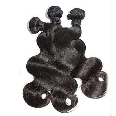 3Pcs/Lot Malaysia Virgin Hair Body Wave 100% Human Hair Unprocessed Human Hair Weaves