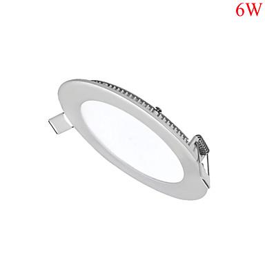 6W Panellys 30pcs SMD 2835 500-550lm lm Varm hvit / Kjølig hvit / Naturlig hvit Dimbar / Dekorativ AC 85-265 V 1 stk.