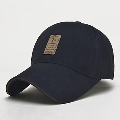 Homens Mulheres Unisexo Primavera Verão Outono Chapéu Vestível Protecção Algodão Fibra Sintética Basebal Moderno