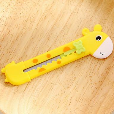 Giraffe Stift Kunstmesser (1 PC gelegentliche Farbe)