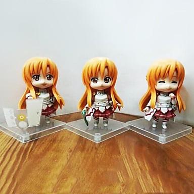 Anime Akcijske figure Inspirirana Sword Art Online Cosplay PVC 8 CM Model Igračke Doll igračkama