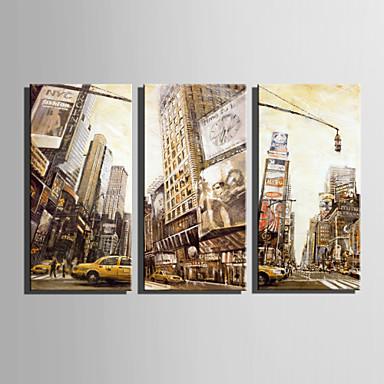 Landskap Lerret Print Tre Paneler Klar til å henge,Lodrett