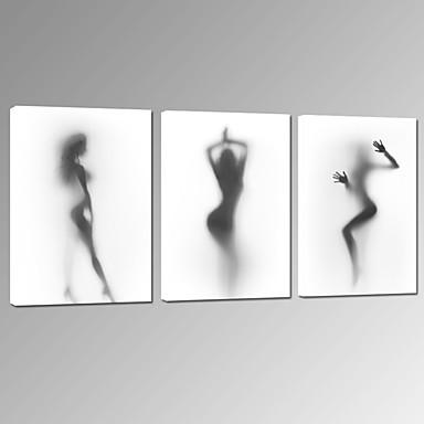 Menschen Fantasie Freizeit Photografisch Skurriles Musik Patriotisch Modern Romantisch Drei Paneele Horizontal Druck Wand Dekoration Haus
