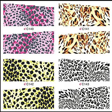 1 Nail Art matrica Víz Transfer matrica Rajzfilmfigura Szeretetreméltő smink Kozmetika Nail Art Design