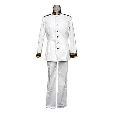 Inspirerad av Hetalia Animé Cosplay-kostymer cosplay Suits Enfärgat Långärmad Kappa Byxor Till Man