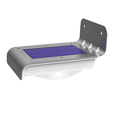 1 kpl Yövalo / Aurinkopaneeli LED-valot Aurinkopaneeli Tunnistin / Vedenkestävä