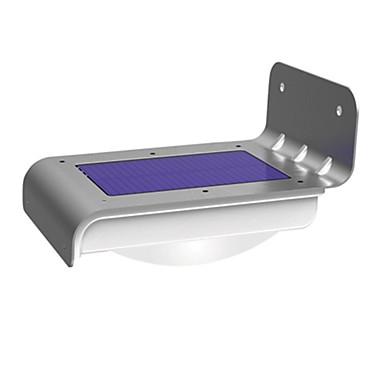 1 Stück Nächtliche Beleuchtung / LED-Solarleuchten Weiß Solar Wasserfest / Sensor