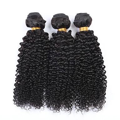 Człowieka splotów włosów Włosy brazylijskie perwersyjne 3 elementy sploty włosów