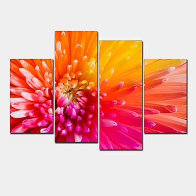 Aufgespannte Leinwandrucke Modern Vier Panele Horizontal Wand Dekoration For Haus Dekoration