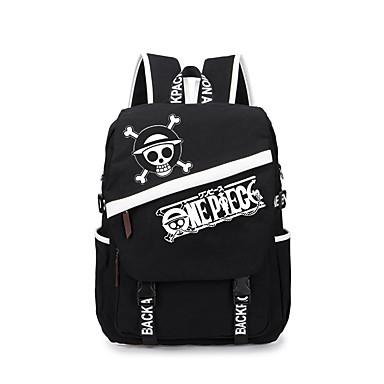 Tasche Inspiriert von One Piece Monkey D. Luffy Anime Cosplay Accessoires Tasche Rucksack Segeltuch Herrn Damen neu heiß