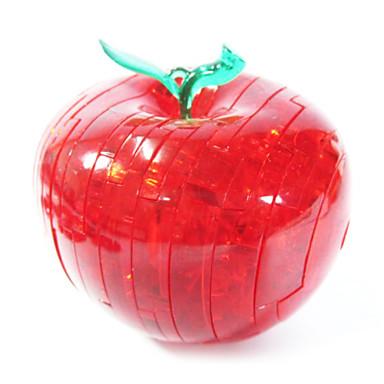 Bausteine 3D - Puzzle Holzpuzzle Kristallpuzzle Apple 3D Heimwerken Krystall ABS Weihnachten