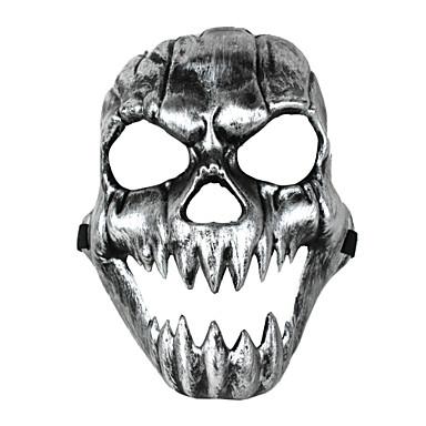 Naamio Luuranko/Pääkallo Festivaali/loma Halloween-asut Painettu Naamio Halloween Unisex