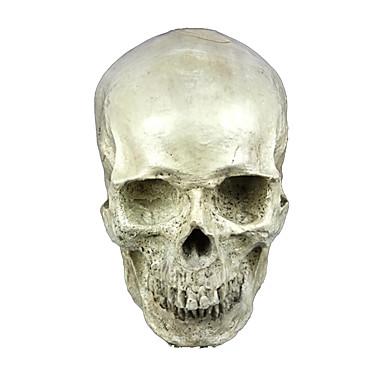 Csontváz / Halálfej Maszk Férfi Női Mindszentek napja A halál napja Fesztivál / ünnepek Mindszentek napi kösztümök Kristály Egyszínű