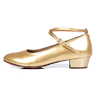 נעלי נשים-בלרינה\עקבים-דמוי עור-עקבים-כסוף / זהב-חתונה / שטח / משרד ועבודה / שמלה / קז'ואל / מסיבה וערב / Work & Duty-עקב עבה