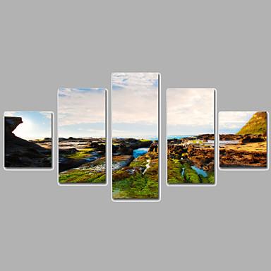 Landschaft Leinwand drucken Mehr als fünf Panele Fertig zum Aufhängen,jede Form