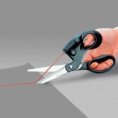 en profesjonell laser guidet saks for husflid innpakning gaver stoff sy kuttet rett rask med batteri