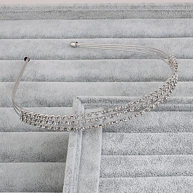rhinestone headbands headpiece esküvői party elegáns női stílusban