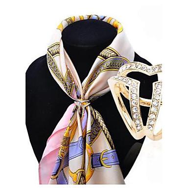 Mulheres Cristal Broches - Fashion Broche Dourado / Prata Para Casamento / Festa / Ocasião Especial