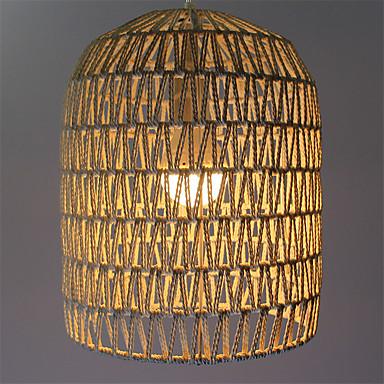 Pendelleuchten ,  Retro Andere Eigenschaft for LED Metall Wohnzimmer Schlafzimmer Esszimmer Studierzimmer/Büro Korridor 1 Glühbirne