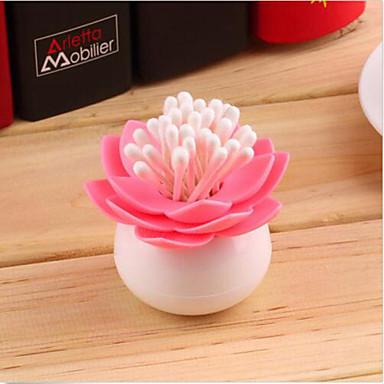 Lotus hammastikkuja haltija pumpulipuikolla laatikko chambre maljakko décoration