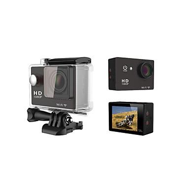 OEM W9 Action Kamera / Sport-Kamera 5MP 640 x 480 / 2048 x 1536 / 2592 x 1944 / 3264 x 2448 / 1920 x 1080 / 3648 x 2736Wifi / Wasserdicht