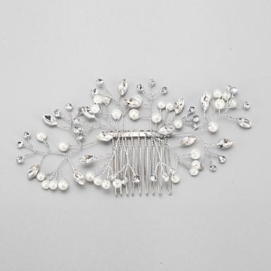 Künstliche Perle Strass Aleación Haarkämme 1 Hochzeit Besondere Anlässe Kopfschmuck