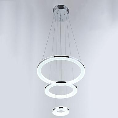 Pendelleuchten ,  Zeitgenössisch Chrom Eigenschaft for Kristall LED MetallWohnzimmer Schlafzimmer Esszimmer Küche Studierzimmer/Büro