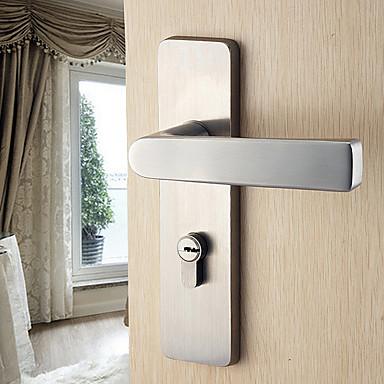 dorlink® klassische Edelstahl-Silber Schlüssel Eintrag Türschloss