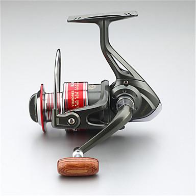 Molinetes Rotativos 5.5:1 12 Rolamentos Trocável Pesca de Mar Rotação Pesca de Água Doce Pesca Geral-KF4000