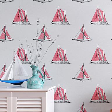 Tapete Geometrisch Tapete Zeitgenössisch Wandverkleidung,Nicht-gewebtes Papier