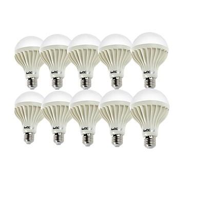 3W E26/E27 LED Globe Bulbs A50 6 SMD 5630 200-250lm Warm White Cold White 6000/3000K Decorative AC 220-240V
