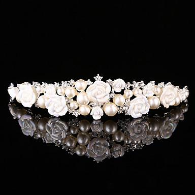 Damen Perle Aleación Kopfschmuck-Hochzeit Besondere Anlässe Stirnbänder 1 Stück