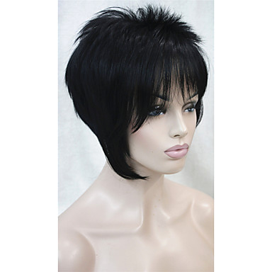 Synthetic Wig Straight Women's Capless Short Synthetic Hair